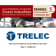 TRELEC will be present at the Ouest Inudstries tradeshow  in Rennes on 7th,8th and 9th of February 2017 !